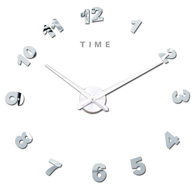 Arabisch Anzahl 3d Diy Digitale Wanduhr Quarz Große Uhren Für Küche