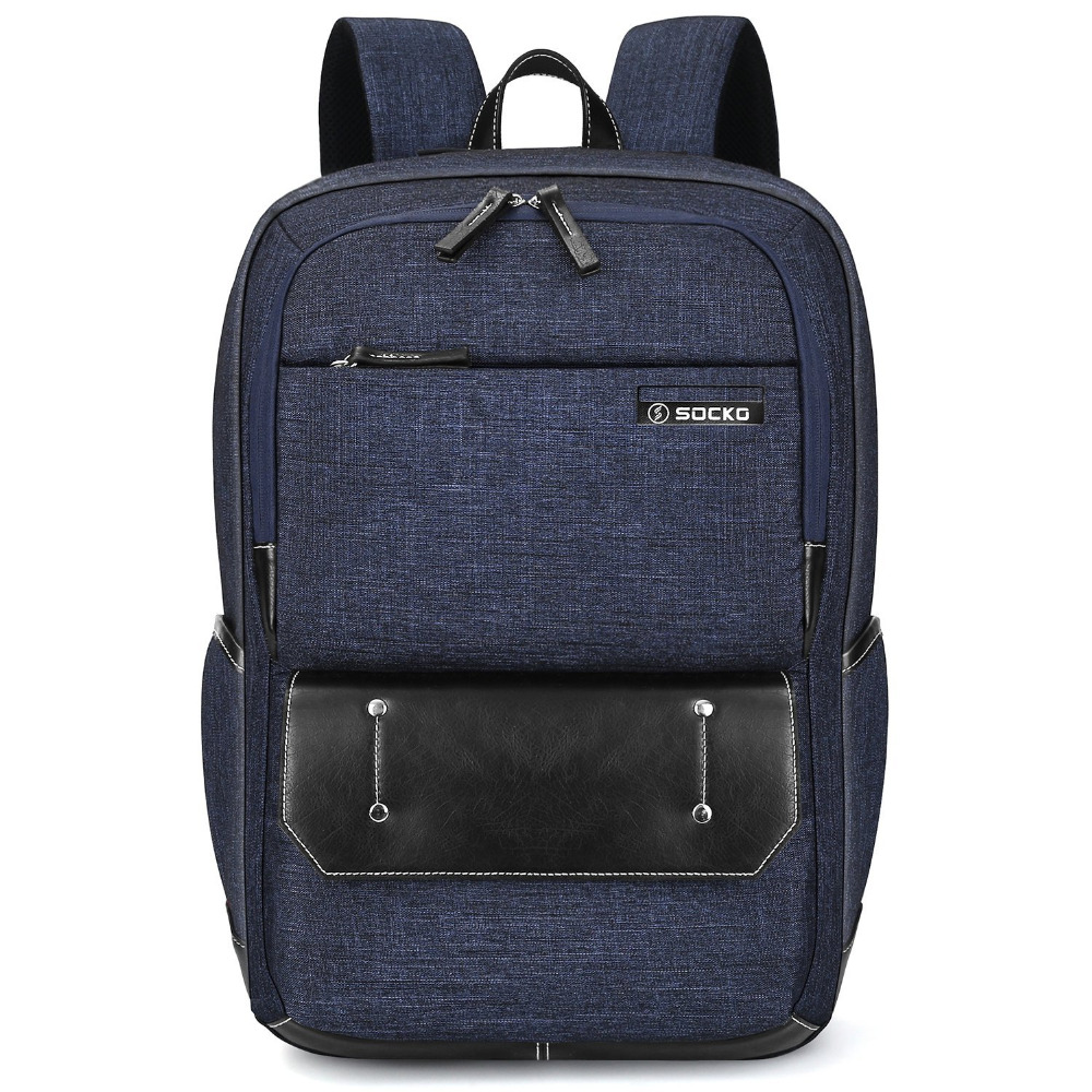 17.3 inch Laptop Backpack Waterproof Travel Backpack for Men Women Durable Lightweight Casual Daypack College School Backpack design male leather casual fashion heavy duty travel school university college laptop bag backpack knapsack daypack men 1170g