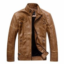 men's brand motorcycle leather jacket riverdale jaqueta de couro masculina men basic jackets cosplay genuine leather coat(China)