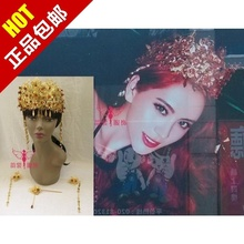Costume coronet the wedding coronet hanfu hair accessory tang suit cos hair accessory