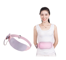 Pelvifine Ultra-thin portable Electronic infrared heating Physiotherapy belt ease women menstrual Warm waist support