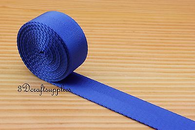 5 yards 1 inch ( 25 mm ) heavy weight nylon webbing for key fob strap blue  ZA77 трубка submarine skat31 dra sn50 1s green