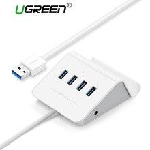 Ugreen USB 3.0 HUB con il Supporto Del Telefono 4 Port USB HUB USB Splitter di Alimentazione Adattatore per iMac Computer Portatile Accessori HUB USB 3.0