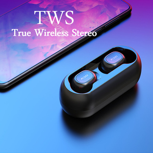 Image 3 - 2018 QCY T1 TWS BT5.0 Wireless Earphones with Dual Microphone Sports Bluetooth Headphones For Phones and Music