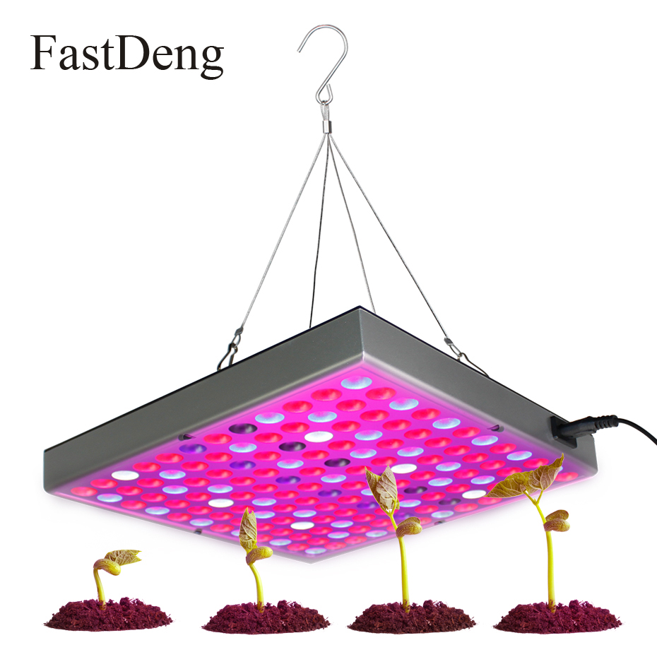 Led Grow Light 45W Panel Uv Ir Red Blue Led Plant Grow Light Lamps Grow Led Full Spectrum Ac85-265V 144Leds Uv Lamp For Plants micro ir uv