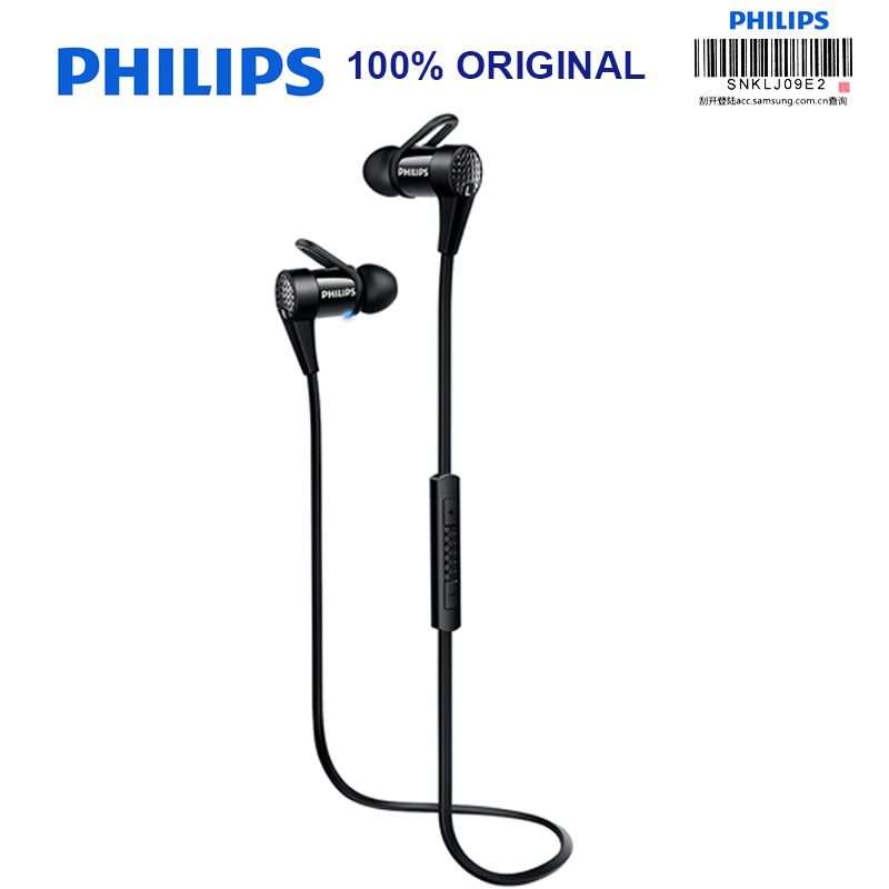 Philips Sports Earphone SHB5800 with NFC Function Lithium Battery Micro USB for Galaxy Note 8 Iphone 8 Official VerificationPhilips Sports Earphone SHB5800 with NFC Function Lithium Battery Micro USB for Galaxy Note 8 Iphone 8 Official Verification