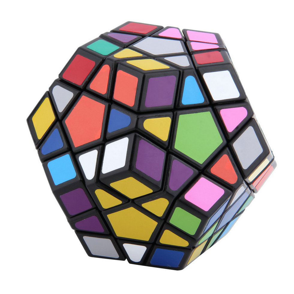 OCDAY Stress Cube Stickerless Toys 12-side Megaminx Magic Cube Puzzle Speed Cubes Office Educational Toys For Anti-stress Cubo