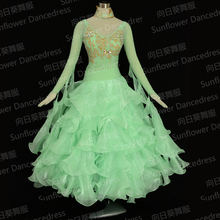 Dress,Women/girl Dance Top Dress,Waltz