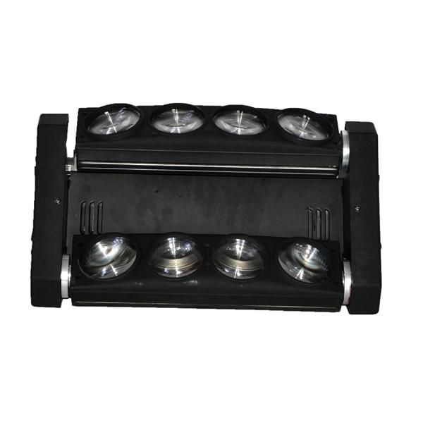 Professional Disco Pary DJ Lighting Moving Head Spider Lights Cree LED 8x10W RGBW Bar DMX Stage Lighting 6PCS/lot