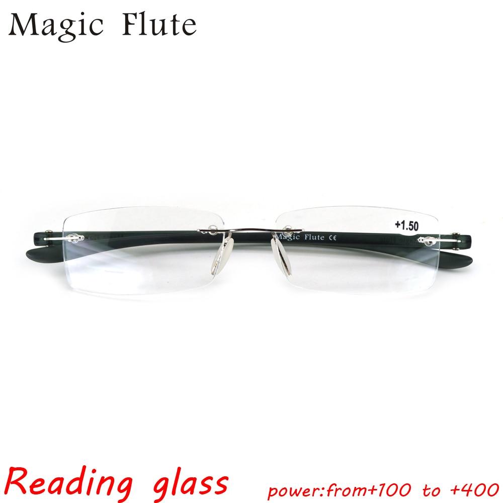 Envío Gratis nueva moda Acero inoxidable Gafas para leer ojo Gafas ...