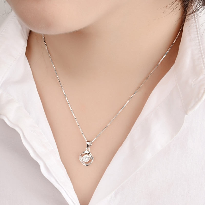 circle of love series promise of love necklace fashion exquisite gift - Fine Jewelry - Photo 2
