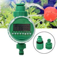 1 Set 20m Micro Irrigation System Electronic Timer Plant Self Watering Drip Garden Dripper Hose Kits Tee Faucet Connector