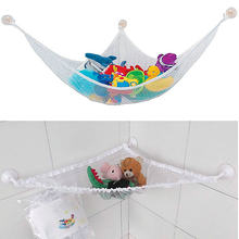 2016 Large Kids Toys Hammock Net Corner Stuffed Jumbo Animals Pet Organizer Storage(China)