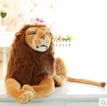 Stuffed Plush Toy Simulation Big Lion Doll 60cm Children S Birthday