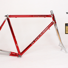 Reynolds 525 tubo/725/853 de cromo Acero al molibdeno Estructura de discos bicicleta de trekking de bicicleta de carretera bicicleta Vintage marco columbus marco