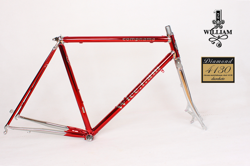 Reynolds Frame Chrome-molybdenum Steel Disc Frame Trekking Bike Road Bike  Vintage Bike Frame Customize Frame