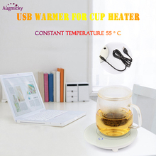 2019 Newest 5V USB Warmer  FRP Heat Heater for Office Milk Tea Coffee Mug Hot Drinks Beverage Cup Mat Kitchen Tools Heater все цены