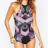 JINYITE Swimsuit Bikini Set White Black Print Women's Swimming Suit Swimwear Bandage Pool Swim Bather Beach
