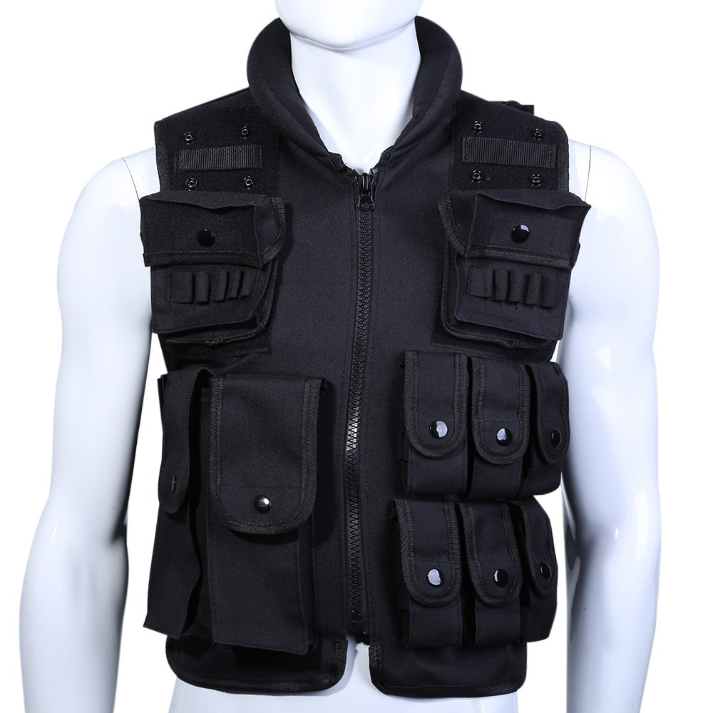 600D Nylon Protective Equipment Tactical Vest Cool Men Hunting Vest Training Military Army Vests Outdoor Men Waistcoat tactical vest men training cs tactical breathable men hiking vest outdoor sport military hunting shooting vest men hmt0034 5