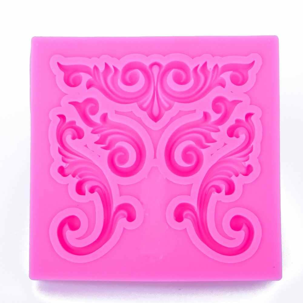 Европейский рельеф форма 3D ремесло рельеф шоколадные кондитерские силиконовые формы помадка торт кухня домашний Декор Инструменты FT-1070