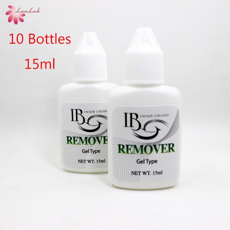 شحن مجاني بالجملة كوريا ibeauty IB واضح هلام مزيل للفرد رمش ملحقات الغراء من كوريا 10 زجاجات/الكثير 15 مللي-في لاصق الرموش من الجمال والصحة على  مجموعة 1