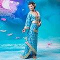 Chino Tradicional de Las Mujeres Vestido Vestido de Princesa de Hadas multicolor Ropa dinastía Tang Hanfu Chino Antiguo Traje de Cosplay