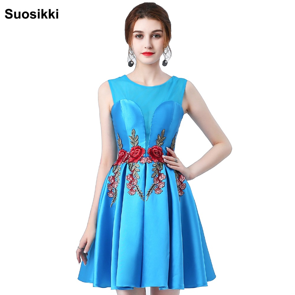 Prom Dresses short Sweetheart Evening party Gowns Graduation Dress ...