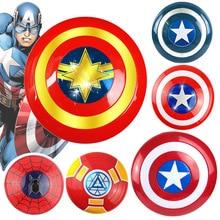 avengers endgame captain america 32cm Assemble Shield Iron man shield Cosplay Toy Children's holiday party props the avengers captain 32cm captain america assemble shield cosplay toy red
