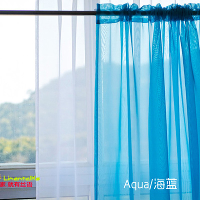 European and American Style Tulle Curtains 3