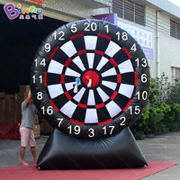 2.5x3 meters outdoors inflatable darts games high quality blow up dart board with sticky darts toys sports