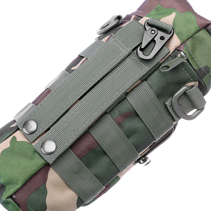 Image 3 - Outdoor Sports Tactical Water Bottle Bags Military Durable Hiking Water Bottle Pouch Nylon Camping Climbing Kettle Bags-in Water Bags from Sports & Entertainment