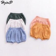 HziriP/Лидер продаж, летние простые хлопковые новые модные детские штаны г. шорты-фонарики с эластичной резинкой на талии для мальчиков, 5 цветов