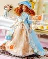 1:12 casa de bonecas Dollhouse Miniature boneca de porcelana Poseable Lady acessórios brinquedo