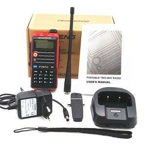 Image 5 - BaoFeng UV B2 Plus 8W High Power FM Transceiver 4800mah Battery BF UVB2 Plus for CB Radio Mobile Radio UVB2 Walkie Talkie Uv b2