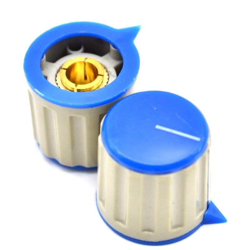 Within KN115 Type Locking Knob Potentiometer Knob Plastic Knob Hole 6MM Hat