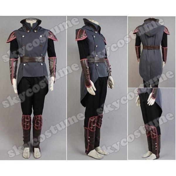 Fashion Avatar The Legend of Korra Amon Men Cosplay Costume Halloween Carnival Full Set