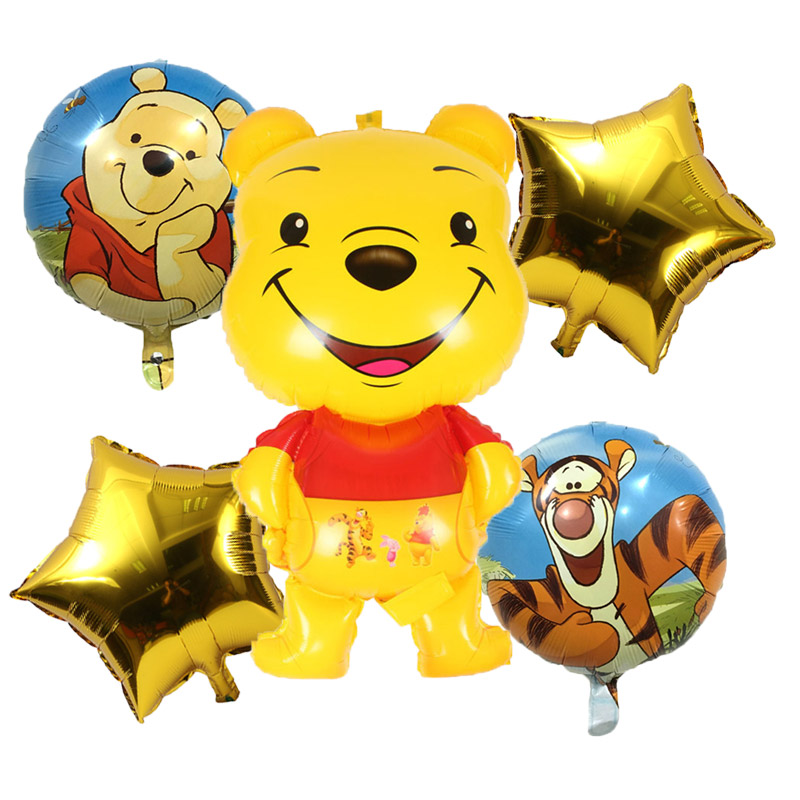 Honey 18inch Happy Birthday Round Foil Balloons Children Classic Toys Inflatable Helium Balloon Happy Birthday Ballons Party Supplies Event & Party