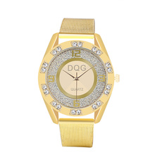 цены Kobiet Zegarka 2019 New Famous Brand Gold Crystal Casual Quartz Watch Women Stainless Steel Dress Watches Hot Relogio Feminino