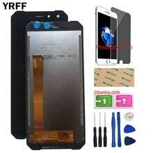 YRFF のモバイル液晶ディスプレイ Leagoo Xrover C Lcd ディスプレイタッチスクリーンフロントガラスセンサータッチスクリーンデジタイザパネルツールプロテクターフィルム