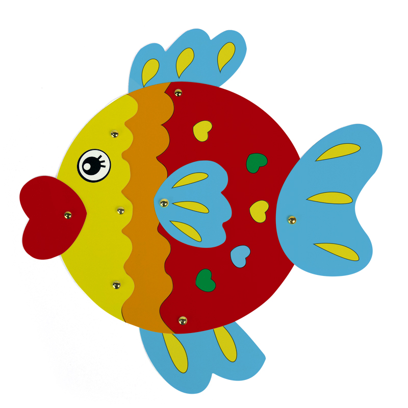 kid art set drawing craft cardboard painting art diy paint goldfish decoration cartoon fish educational toy draw game schilderij in drawing toys from toys