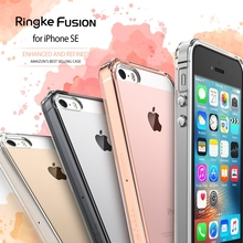 100% Original Ringke Fusion Case for iPhone SE / iPhone 5S / iPhone 5 Clear & Slim Shockproof Protective Cases