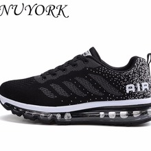 976cadd07 NUYORK New listing hot sales Spring and Autumn Fly line Breathable Men  running shoes Full air