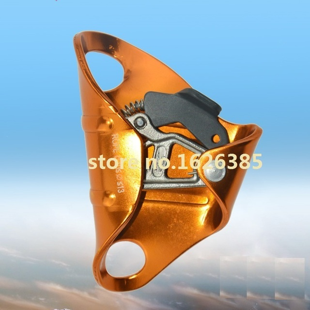 Chest type ascending device rope for outdoor rock mountain climbing tool hardware rope ice belt lifting slingg