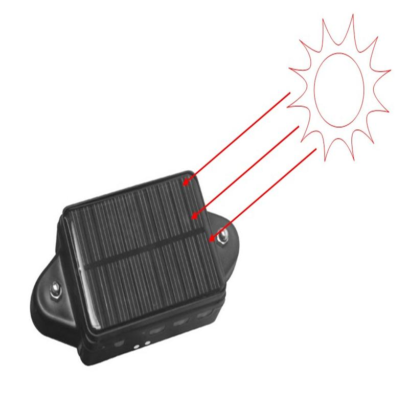 CCTR-808S Solar Powered GPS Tracker Pets Waterproof GPS Magnet Car Gps Tracker Long Battery Time Free APP Web Track four band 850 900 1800 1900mhz mini gps dog tracker waterproof with mobile phone track pets dogs kids