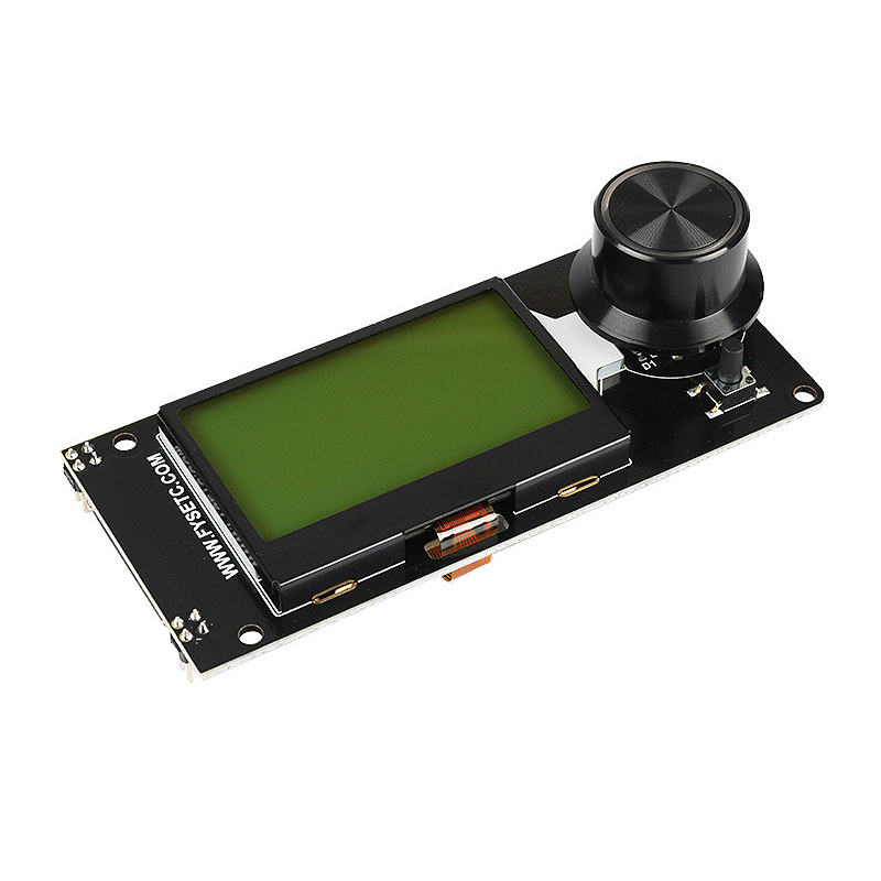 Image 2 - Type D Mini12864 Lcd Screen Mini 12864 Smart Display White On Black Supports Marlin Diy With Sd Card 3d Printer Accessories-in 3D Printer Parts & Accessories from Computer & Office