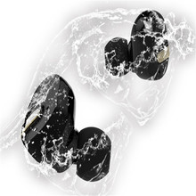 new design water sweat filth proof earpods pair hifi stereo subwoofer HD microphone noise discount sturdy sign for sports activities