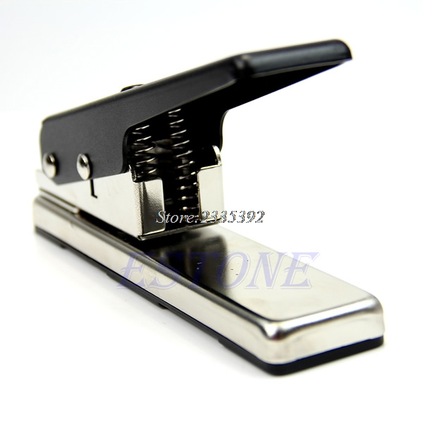 Black&Sliver Professional Guitar Plectrum Punch Picks Maker Card Cutter DIY Own Pick