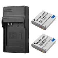 2 pièces NB-6L NB-6LH Remplacement Batterie + Chargeur Pour appareil photo Canon IXUS 310 SX240 SX275 SX280 SX510 SX500 HS 95 200 105 210 300 S90 S95