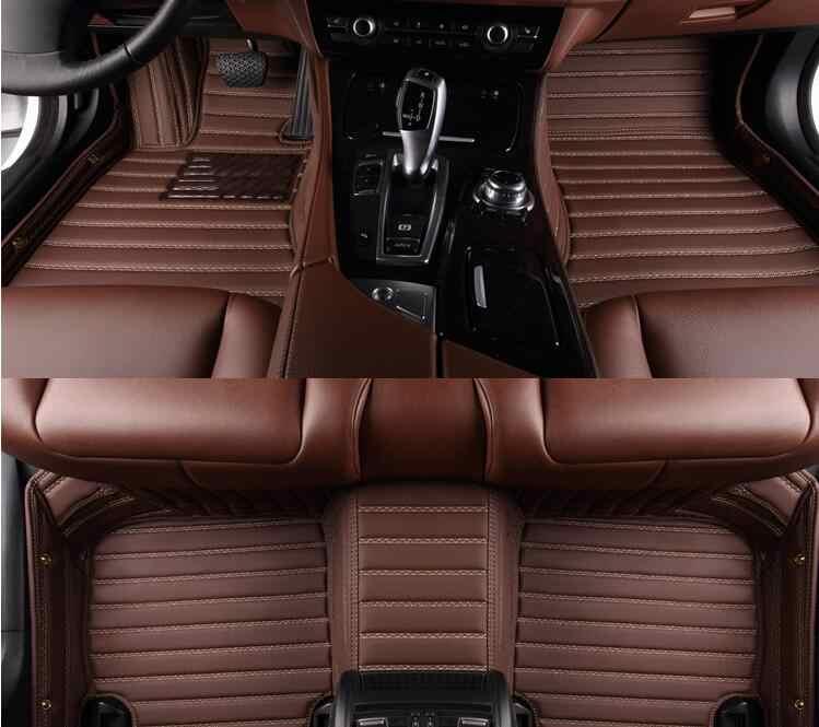 高品質マット! カスタム特別な車のフロアマット BMW 2 シリーズクーペ F22 218i 220i 225i 228i 2019-2014 防水車カーペット