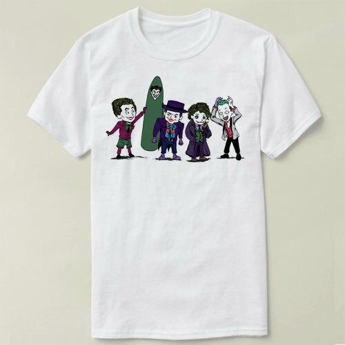 3fedb4221efc8 Jack Nicholson Joker Batman T Shirt Dos Homens Roupa Masculina Slim ...